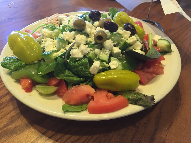 Miami Juice - Delicious salad with feta cheese